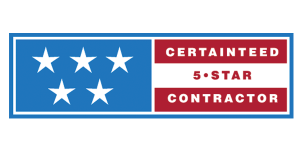 CertainTeed 5 star contractor certification