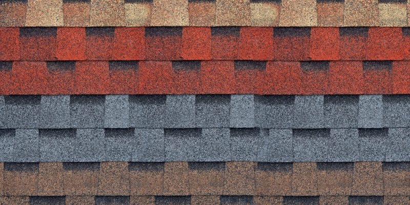 Colorful Asphalt Shingle Roof