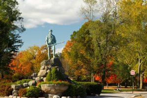 Concord, Ma minuteman statue