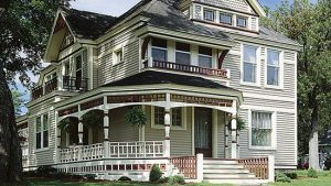 Victorian Home New Siding