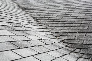 Old Asphalt Roof