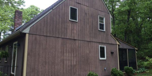 Foxboro home, Old Wood Siding