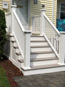 Front Entry Stairs and rails