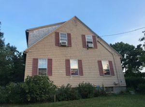 Old siding & windows