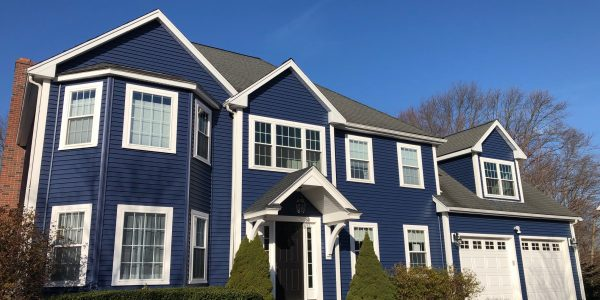 New siding, windows and roofing
