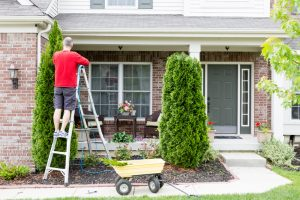 Spring Home Maintenance, cleaning gutter system